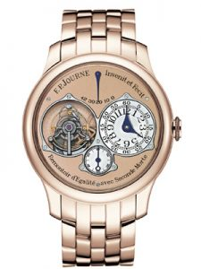 F.P.Journe Swirl Sovereign with second dead