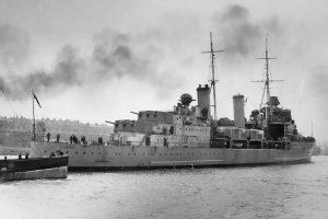 Британский крейсер «Эдинбург»