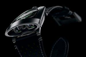 MB&F HMX Black Badger Green