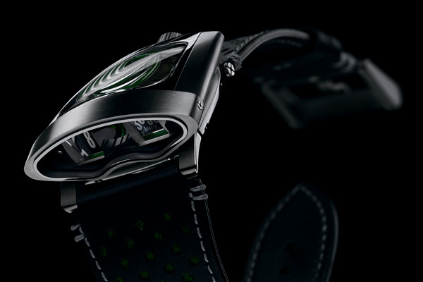MB&F HMX Black Badger Green
